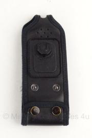 Opbouwtas Marechaussee en leger C2000 portofoon zwart voor Klickfast systeem - origineel