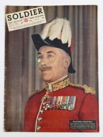The British Army Magazine Soldier Vol.9 No 2 April 1953 -  Afkomstig uit de Nederlandse MVO bibliotheek - 30 x 22 cm - origineel