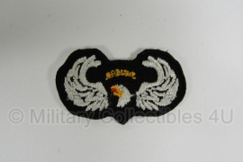 WWII US 101 Airborne Division oval wing