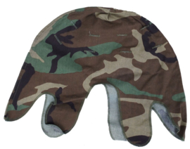 US Army woodland M1 helmovertrek Cover Helmet camouflage - origineel