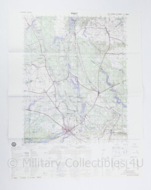 USA Defence mapping agency stafkaart Poland Walcz M753 2524I - 1 : 50.000 - 74 x 58 cm - origineel