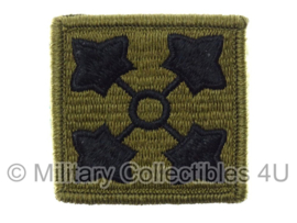 US Army OCP SSI patch - 4rd Infantry Division - met klittenband - voor multicamo uniform - origineel