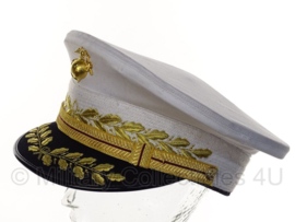 USMC US Marine Corps Commander cap GENERAL Dress cap voor Blue Dress - maat 59 of 60 cm.