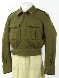 MVO Ministerie van Oorlog jasje Technische Troepen 1956 - rang Tweede Luitenant - maat 50 - origineel