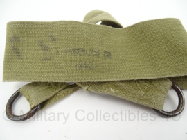 WO2 US Musette bag draagriem - gestempeld 1942 - Origineel