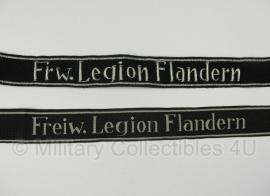 Cufftitle Frw. Legion Flandern SS-Freiwilligen Legion Flandern.