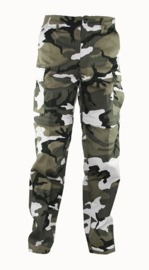 Afritsbroek ZIP-OFF afritsbare broek - URBAN CAMO