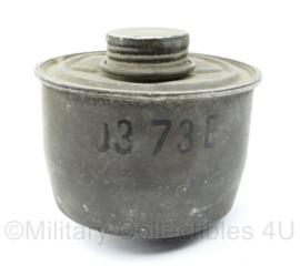 Belgisch leger ABL Gasmasker filter - origineel