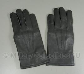 KLu handschoenen - grijs echt leder - maat 8,5 tm. 9,5 - origineel