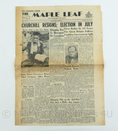 Krant Maple Leaf - 24 June 1945 -  origineel
