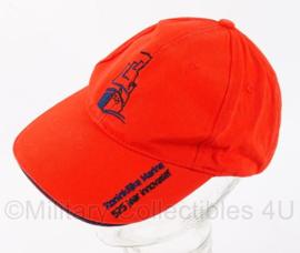 "NL KM baseball cap - ""525 jaar innovatief"" - oranje -  verstelbaar - origineel"