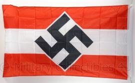 HJ Hitler Jugend vlag - polyester - 90 x 150 cm