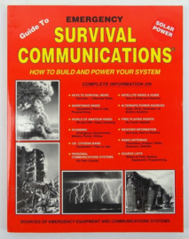 Guide to Emergency Survival Communications: How to Build and Power Your System - afmeting 28 x 22 cm - origineel