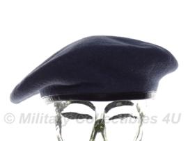 KLU luchtmacht baret ZONDER insigne - maat 62 - Beatex  - origineel