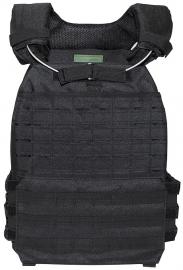 SWAT EN ME assault body protector - extra beschermend - zwart