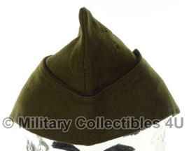 Deens schuitje - lijkt op wo2 US officer overseas cap Garrison cap - 56 tm. 59 cm.