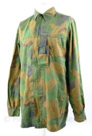 Defensie en Korps Mariniers Jungle jas - zeldzaam model zonder borstzakken - met tas voor kompas - maat 8000/9095 - origineel