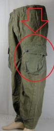 Los paar beenzakken MET veters voor US m43 jumptrouser parabroek