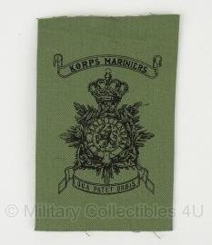 Korps Mariniers Dungaree uniform borstzak embleem voor fatique jas - origineel