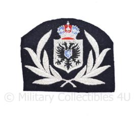 Arnhemse gemeente ambtenaar pet embleem - 9 x 7 cm  -origineel