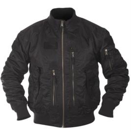 Tactical Flight Jacket Bomberjack - Black