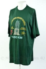 Defensie T-shirt KCT Korps Commandotroepen memorial March Achnacarry Roosendaal 1942-1997 - maat XXL - origineel