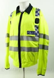 Britse Politie POLICE support jacket lightweigt High Visability  met portofoon houders - nieuw - maat Large Regular- origineel