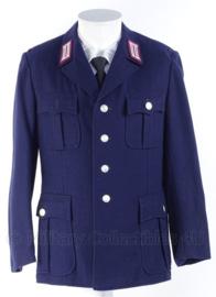 "Duitse DDR Feuerwehr  ""vroeg"" model wollig uniform jasje - maat 48 - origineel"