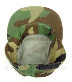 US Army woodland cap - cap hot weather - maat 7 1/8 - origineel