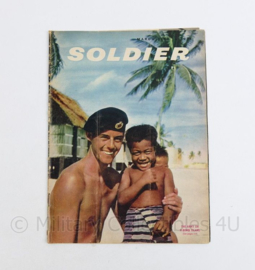 The British Army Magazine Soldier March 1959 - 30 x 22 cm - origineel
