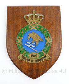 Klu Luchtmacht wandbord 3GGW 3 Groep Geleide Wapens - 18,5 x 14 x 1,5 cm - origineel