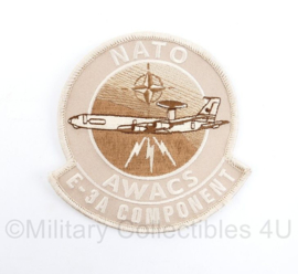 KLu Luchtmacht Desert Nato Awacs E-3A Component embleem - 10 x 10 cm - origineel