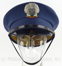 Bulgaarse Politie pet - maat 7 - origineel