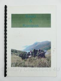 Korps Mariniers handboek kaart en kompas