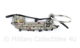 Defensie sleutelhanger Chinook - 8 x 2 cm - origineel