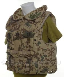 Bundeswehr kogelwerend vest tropencamo - met inhoud - maat L - origineel
