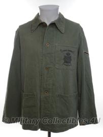 Korps Mariniers Dungaree Tropen set jas en broek - ZONDER rang - maat Medium - origineel