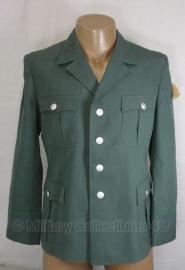 DDR NVA VOPO Volkspolizei uniform jas groen - origineel