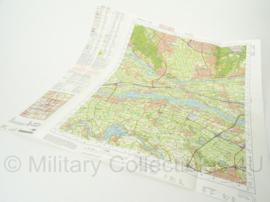 KL Nederlandse leger topografische kaart 2007 1:50 000 - 39 Oost Tiel - origineel