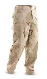 US Army en Korps Mariniers Desert camo trouser RIPSTOP - maat Medium-Regular - origineel