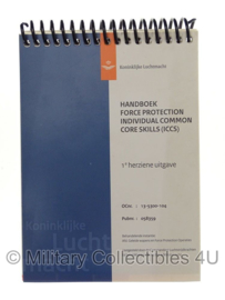 KLU Luchtmacht handboek - Handbook Force Protection ICCS - origineel