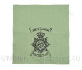 Korps Mariniers Dungaree jas borstzak - ongevouwen - 19 x 18 cm - origineel