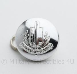 Gemeentepolitie knoop 25 MM zilver- oud -  origineel