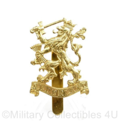 Nederlands WO2 en MVO insigne Prinses Irene Brigade - pet en baret insigne - Maker Parree Horst -  5 x 3 cm - origineel