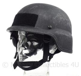 Politie en special forces MICH helm zwart NIJ L3a IIIa - MLA PST - Medium - origineel