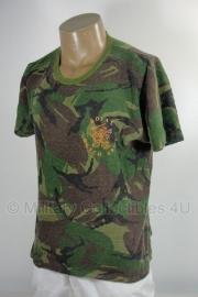 KL Woodland shirt Nederlands leger met opdruk ROYAL DUTCH ARMY  - gebruikt - meerdere maten - origineel