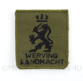 KL Landmacht borst embleem werving landmacht- met klittenband - afmeting 5 x 5 cm - origineel