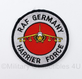 RAF Germany Britse Luchtmacht in Duitsland Harrier Force embleem - diameter 9 cm - origineel