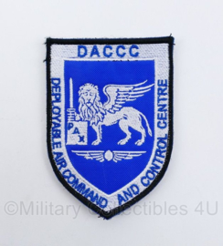Klu Luchtmacht embleem Nato Air Command DACCC Deployable Air Commando  And Control Centre - 10 x 7 cm - origineel