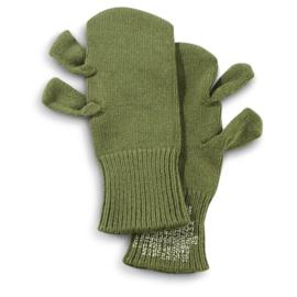 Handschoenen - OD Green trigger gloves size medium - origineel US Army